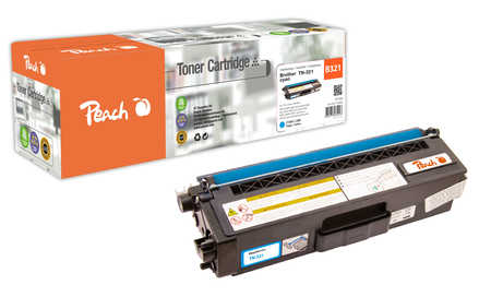 Peach  Tonermodul cyan, kompatibel zu Brother MFCL 8600 CDW