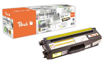 Peach  Tonermodul gelb, kompatibel zu Brother MFCL 8600 CDW