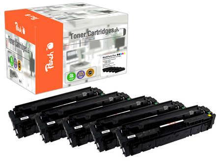 Peach  Spar Pack Plus Tonermodule kompatibel zu HP Color LaserJet Pro M 252 n