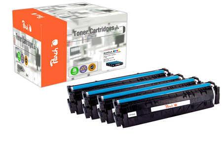 Peach  Spar Pack Tonermodule kompatibel zu HP Color LaserJet Pro M 254 dw