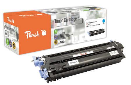 Peach  Tonermodul cyan kompatibel zu HP Color LaserJet CM 1017