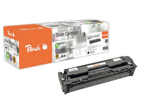 Peach  Tonermodul schwarz kompatibel zu HP Color LaserJet CM 2320 N MFP