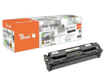 Peach  Tonermodul cyan, kompatibel zu HP Color LaserJet CM 2320 N MFP