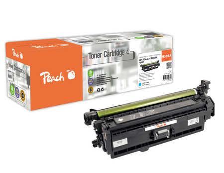 Peach  Tonermodul cyan, kompatibel zu HP Color LaserJet CM 3530 FS MFP