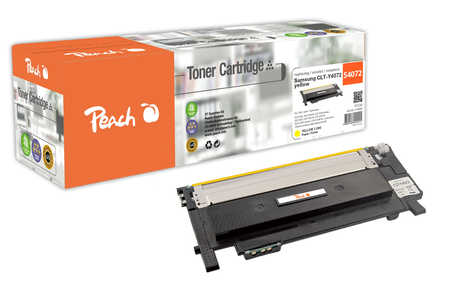 Peach  Tonermodul gelb kompatibel zu Samsung CLP-320 N