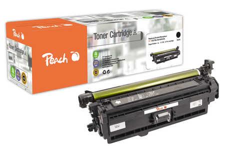 Peach  Tonermodul schwarz kompatibel zu HP Color LaserJet Enterprise CP 5525 N
