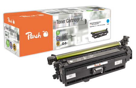 Peach  Tonermodul cyan, kompatibel zu HP Color LaserJet Enterprise CP 5525 N