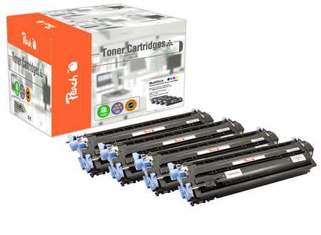 Peach  Spar Pack Tonermodule kompatibel zu HP Color LaserJet CM 1017