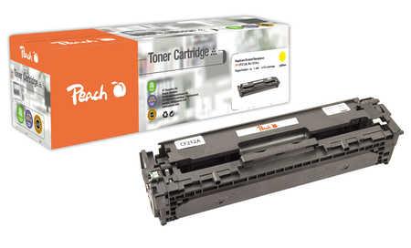 Peach  Tonermodul gelb, kompatibel zu HP LaserJet Pro 200 color M 276 nw