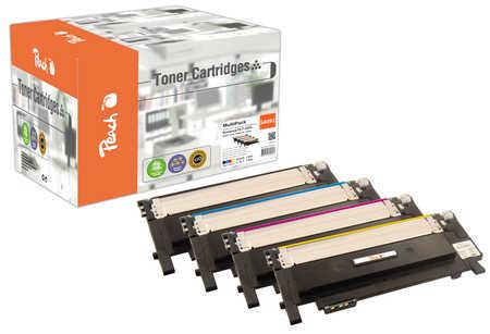 Peach  Spar Pack Tonermodule kompatibel zu Samsung CLP-315 N