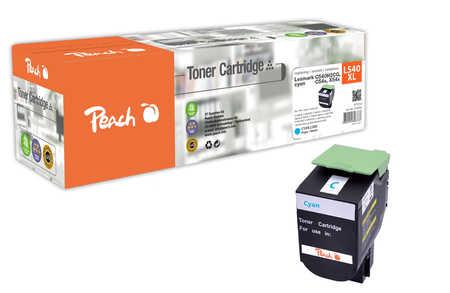 Peach  Tonermodul cyan kompatibel zu Lexmark C 544 DN
