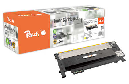Peach  Tonermodul gelb kompatibel zu Samsung CLP-360 N