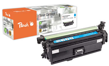 Peach  Tonermodul cyan, kompatibel zu HP LaserJet Enterprise 500 color M 575 c