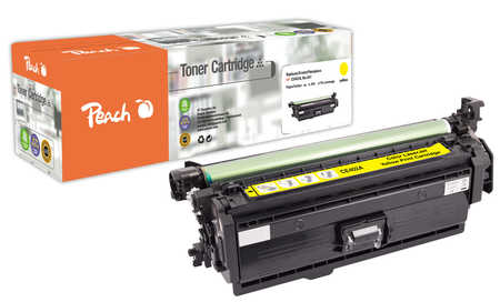 Peach  Tonermodul gelb kompatibel zu HP LaserJet Enterprise 500 color M 575 c