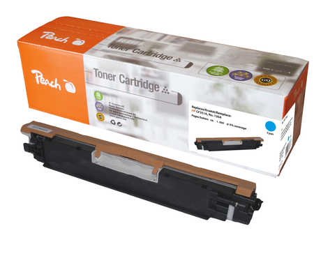 Peach  Tonermodul cyan kompatibel zu HP Color LaserJet Pro MFP M 176 n