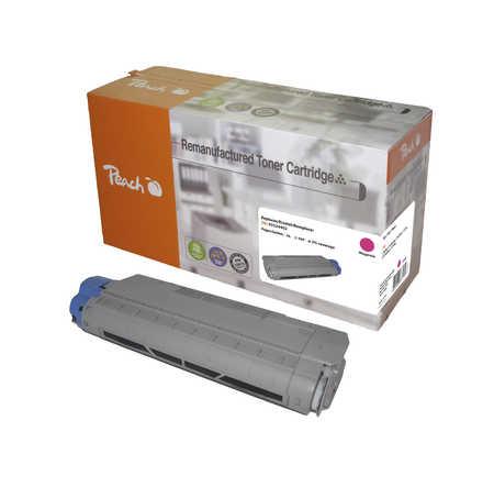 Peach  Tonermodul magenta kompatibel zu OKI C 5650 N