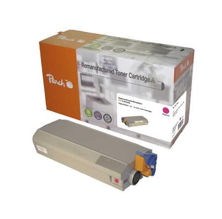 Peach  Tonermodul magenta kompatibel zu OKI C 7100