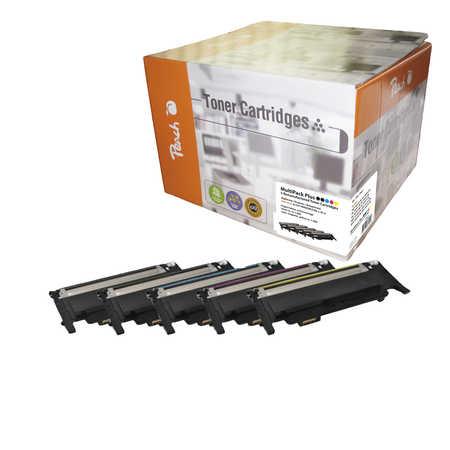 Peach  Spar Pack Plus Tonermodule kompatibel zu Samsung CLP-315 N