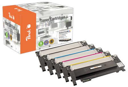 Peach  Spar Pack Plus Tonermodule kompatibel zu Samsung CLP-360 N