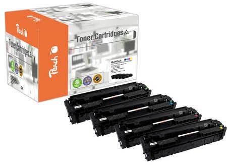 Peach  Spar Pack Tonermodule kompatibel zu HP Color LaserJet Pro MFP M 477 fnw