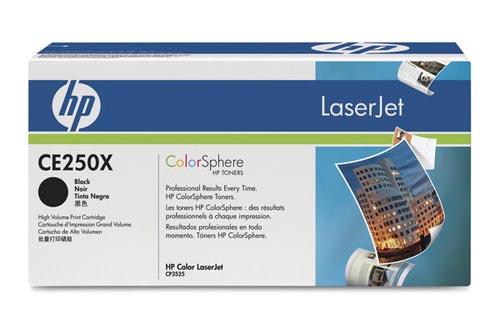 Original  Tonerpatrone HY schwarz HP Color LaserJet CM 3530 FS MFP