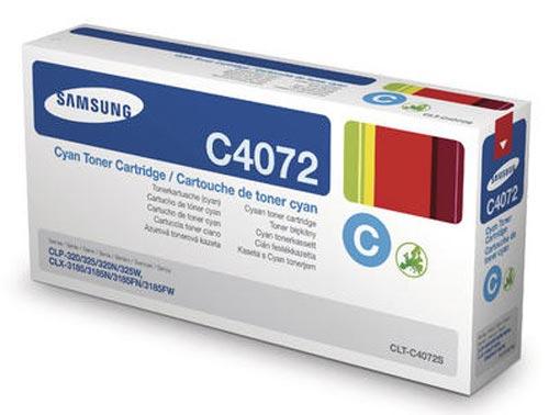 Original  Tonerpatrone cyan Samsung CLP-320 N