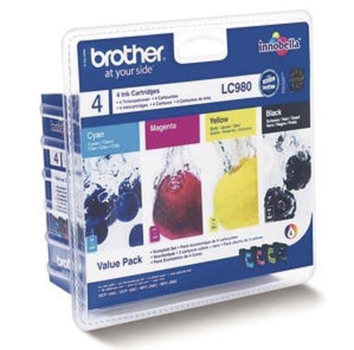 Original  Valuepack Tinte schwarz, color, Brother DCP-163 C