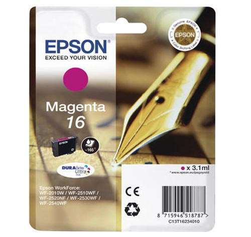 Original  Tintenpatrone magenta Epson WorkForce WF-2530 WF