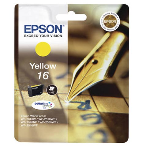 Original  Tintenpatrone gelb Epson WorkForce WF-2530 WF