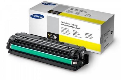 Original  Tonerpatrone gelb Samsung CLP-680 Series