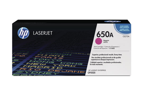 Original  Tonerpatrone magenta HP Color LaserJet Enterprise CP 5525 N