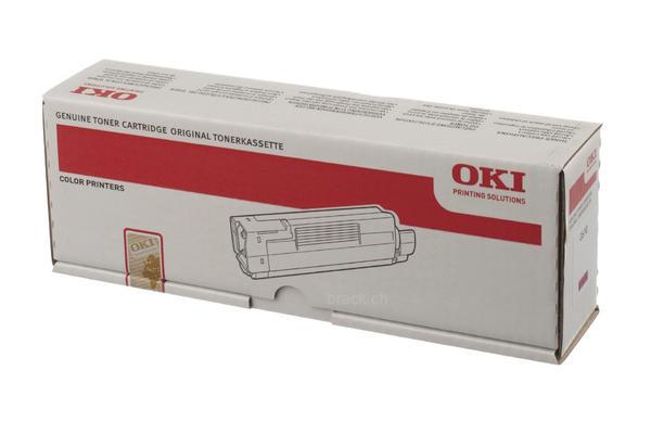 Original  Tonerpatrone magenta OKI C 610 DN