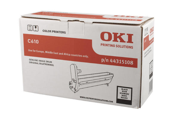 Original  Trommeleinheit schwarz OKI C 610 DN