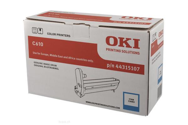 Original  Trommeleinheit cyan OKI C 610 DN