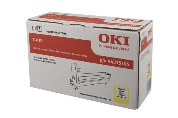 Original  Trommeleinheit gelb OKI C 610 DN