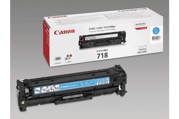 Original  Tonerpatrone cyan Canon ISensys LBP-7200 cdn