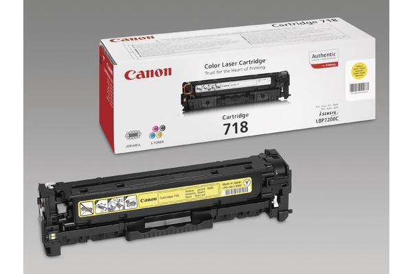Original  Tonerpatrone gelb Canon ISensys LBP-7200 cdn