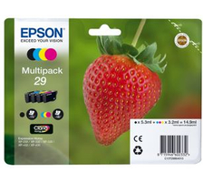 Original  Multipack Tinte CMYBK Epson Expression Home XP-452