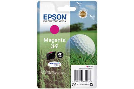 Original  Tintenpatrone magenta Epson WorkForce Pro WF-3700 Series