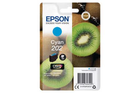Original  Tintenpatrone cyan Epson Expression Premium XP-6000