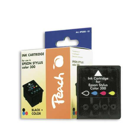 Peach  Tintenpatrone schwarz, color kompatibel zu Epson Stylus Color 300