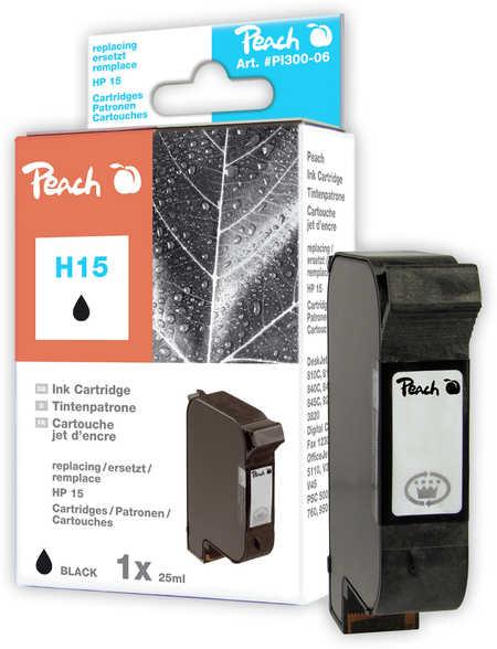 Peach  Druckkopf schwarz kompatibel zu HP DeskJet 3816