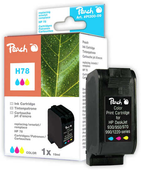 Peach  Druckkopf color kompatibel zu HP DeskJet 3816