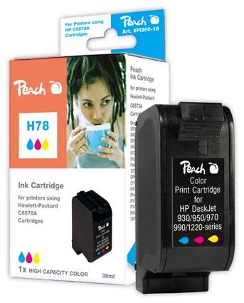 Peach  Druckkopf color High Capacity kompatibel zu HP DeskJet 3816