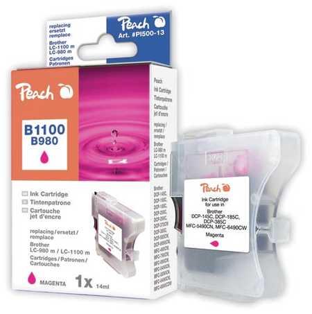 Peach  Tintenpatrone magenta kompatibel zu Brother DCP-163 C