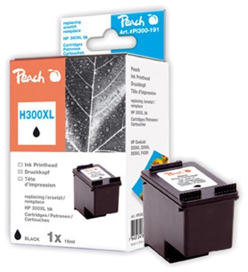 Peach  Druckkopf schwarz kompatibel zu HP DeskJet F 4213
