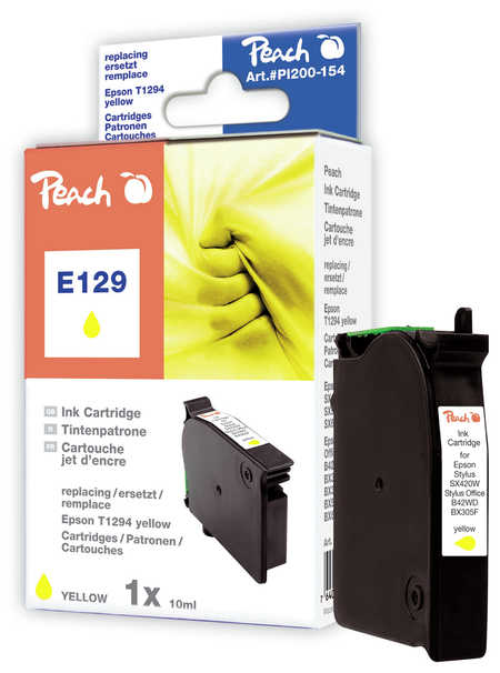 Peach  Tintenpatrone gelb kompatibel zu Epson Stylus SX 525 WD