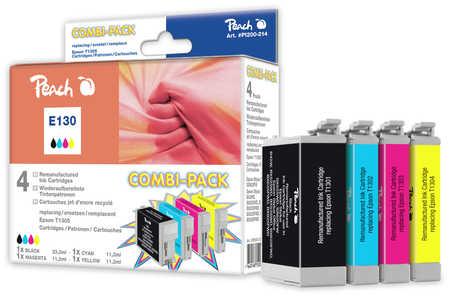Peach  Spar Pack Tintenpatronen kompatibel zu Epson Stylus SX 525 WD