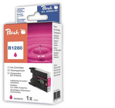 Peach  XL-Tintenpatrone magenta kompatibel zu Brother MFCJ 6510 DW