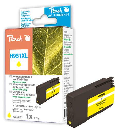Peach  Tintenpatrone gelb HC kompatibel zu HP OfficeJet Pro 251 dw